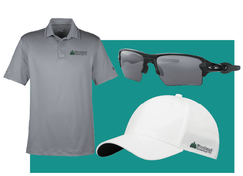 Virtual Golf Event Promotional Products
