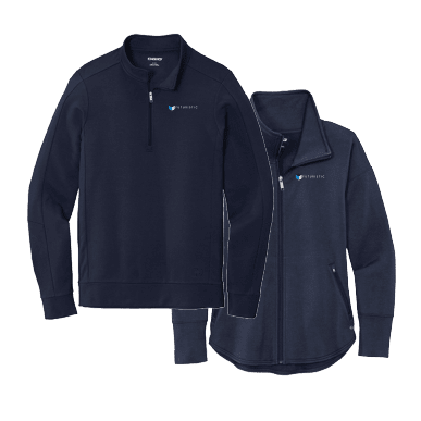 Half Zip Fleece Sweatshirt