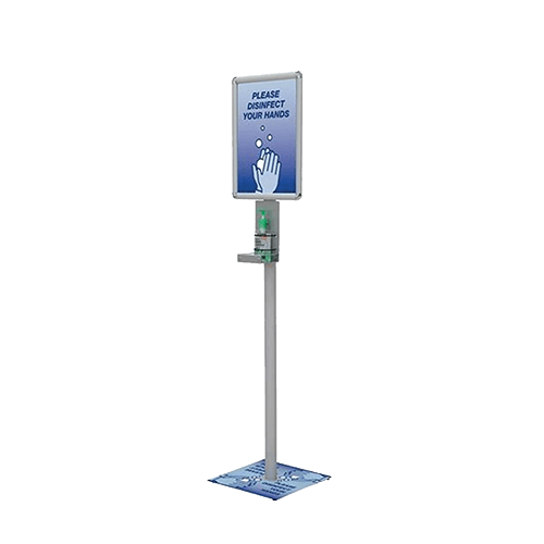 Sanitizer Stand with Decals