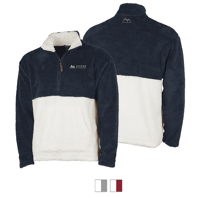Oxford Quarter Zip Fleece